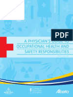 Guide to Occupational Health Safety - A Physician s Guide