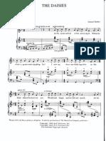 The Daisies - High Voice.PDF