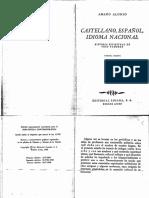 Alonso - Castellano, español, idioma nacional.pdf