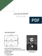 Leis de Kirchhoff - Slides Da Aula