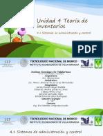 UNIDAD 4 TEMAS 4.1