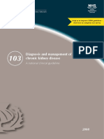 Sign Diagnosis and Management of Chronic Kidney Disease Guideline