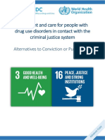 UNODC WHO Alternatives to Conviction or Punishment 2018