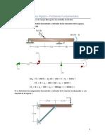 Problemas Fundamentales sobre Equilibrio en Cuerpos Rígidos (Reacciones).pdf