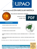 Degeneracion Macular Miopica