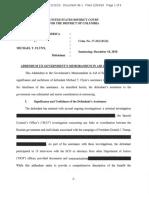 Addendum to Michael Flynn sentencing memo