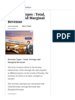Revenue Types _ Total, Average and Marginal Revenue