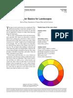 Color Basics for Landscapes