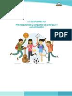 Kit de Prevención Del Consumo de Drogras y Autocuidado