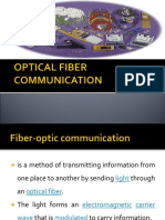 OPTICAL FIBER COMMUNICATION - James Lilana.ppt