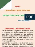 Presentación Hidrol. Vial Ciacep