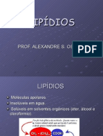 Biologia PPT - Lipídios