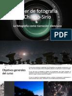 Taller de Fotografía Chileno-Sirio.
