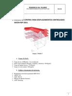 Resumen de Pre Dimensionamiento Residencia Vial Velarde