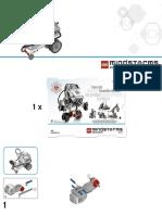 Instruções montagem EV3