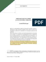 Memorandum sobre la economía chilena_harberger