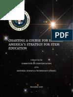 STEM Education Strategic Plan 2018