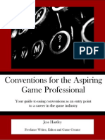Conventions for the Aspiring Game Professional
