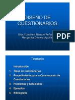 DISEO DE CUESTIONARIOS