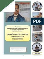 Diagnóstico Cultural de Moyobamba