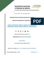 CMIC 05 Análisis de Costos Indirectos, Finaciamiento y Utilidad