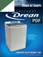 Lavarropas Drean Concept Electronic