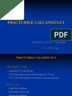 28.Fracturile calcaneului - Dr.Ouatu Constantin.ppt