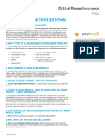 Critical Illness Insurance FAQ