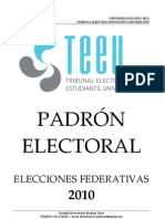PADRON II 2010 - TEEU