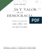 Hans Kelsen - Esencia y valor de la democracia.pdf