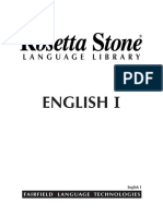 English(US) 1