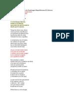 Letras de Fandangos Republicanos El Cabrero