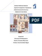 Diseño Estructural de Una Casa Habitación en Dos Plantas