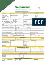 PDF FORMATO AFILIACIÓN 2009