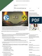 Prediksi Skor Schalke 04 vs Dortmund 08 Desember 2018