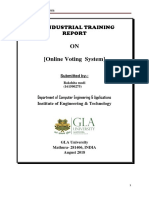 Report of (Industrial Training) (1)