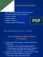 Ch11-CastingProcesses