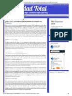 Calidad Total_ CPM y PERT_ Dos Métodos Fundamentales en La Gestión de Proyectos