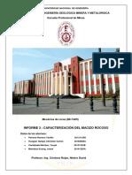 INFORME 3 Caracterizacion Del Macizo Rocoso