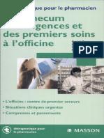 Vademecum des urgences et des premiers soins à l'officine.pdf
