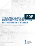 The Landscape of Immigration Detention in the United States