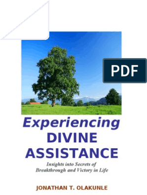 Experiencing Divine Assistance Full Text Jto | Sin | Divinity