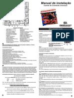 Manual Tecnico Central Inversora Para Automatizadores Omega Sat