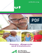 Gout Causes Diagnosis Treatments Brochure