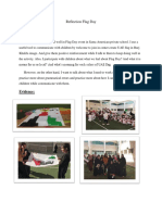 reflection flag day-semester 6