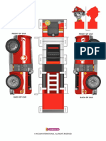 Marshall Printable Vehicle Template