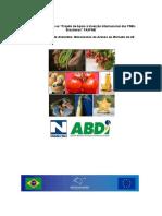 Estudo Da Cadeia de Alimentos - Mecanismos de Acesso Aos Países Da UE