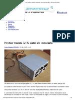 Probar Fuente ATX Antes de Instalarla _ Manuales y Trucos de Informática • El Grupo Informático
