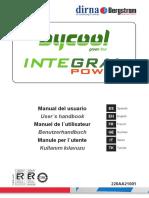 Bycool Integral Power, Manual de Usuario