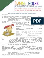 Verbos Irregulares en Tiempo Pasado Simple (Brecha